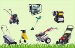 Электро и бензоинструмент, садовая техника.