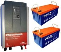 Система для резервного питания газового котла 800 Вт (2 кВт)