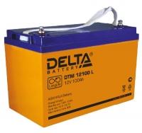 Аккумулятор DELTA DTM 12100L (100Ач, 12В)