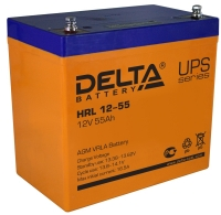 Аккумуляторная батарея Delta HRL 12-55
