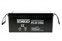 Аккумуляторная батарея Technology NP12 - 200Ah AGM