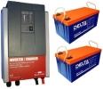 Система для резервного электроснабжения 2 кВт (4кВт*ч)