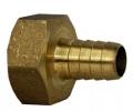 Штуцер газовый (для шланга) Ду15 10mm латунный с внутренней резьбой