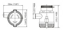 погружной насос SFBP1-G3700-01 12 вольт