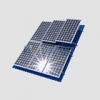 Комплект для монтажа от 2х модулей ФСМ 150-160 на наклонной крыше