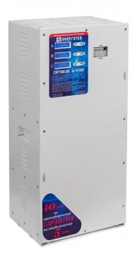 Трехфазный стабилизатор Энерготех OPTIMUM+ 9000х3
