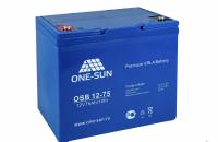 Аккумуляторная батарея AGM OSB 12-75