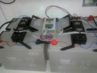 Система пассивной балансировки напряжений заряда аккумуляторных батарей
