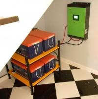 Система для резервного электроснабжения 4 кВт (8кВт*ч)