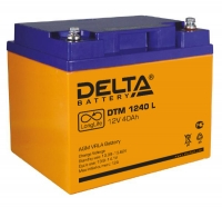 Аккумуляторная батарея DELTA DTM 1240L (40Ач, 12В)