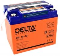 Аккумулятор Delta GEL 12-33
