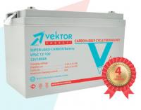 Аккумуляторная батарея VEKTOR ENERGY CARBON VPbC12-150