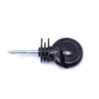 Кольцевой изолятор чёрный с вырезом