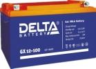 Аккумулятор гелевый DELTA GX 12-100 Xpert