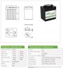 Тяговый аккумулятор Discover EV506G-180 ( 6V 205Ah / 6В 205Ач )