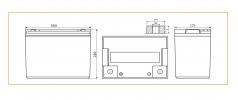 Аккумулятор ВОСТОК PRO СК-12100 AGM