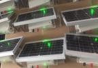 Генератор импульсов Exmork 12В 7-10 КВ 0.3-0.5 Дж 5 км в комплекте с солнечной батареей