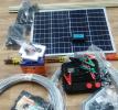 Электроизгородь 2 Дж 50х50 м 3 ряда, с солнечной батареей